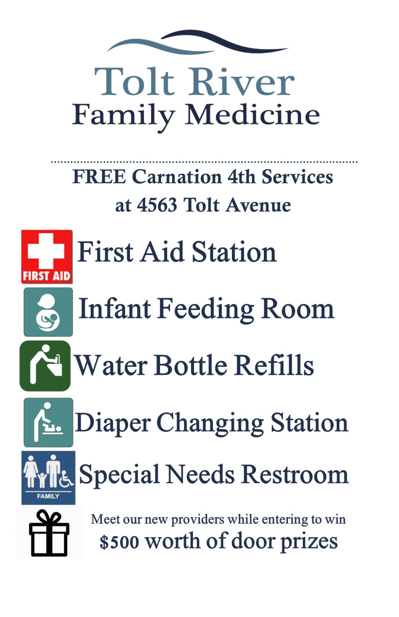 carnation 4th services poster